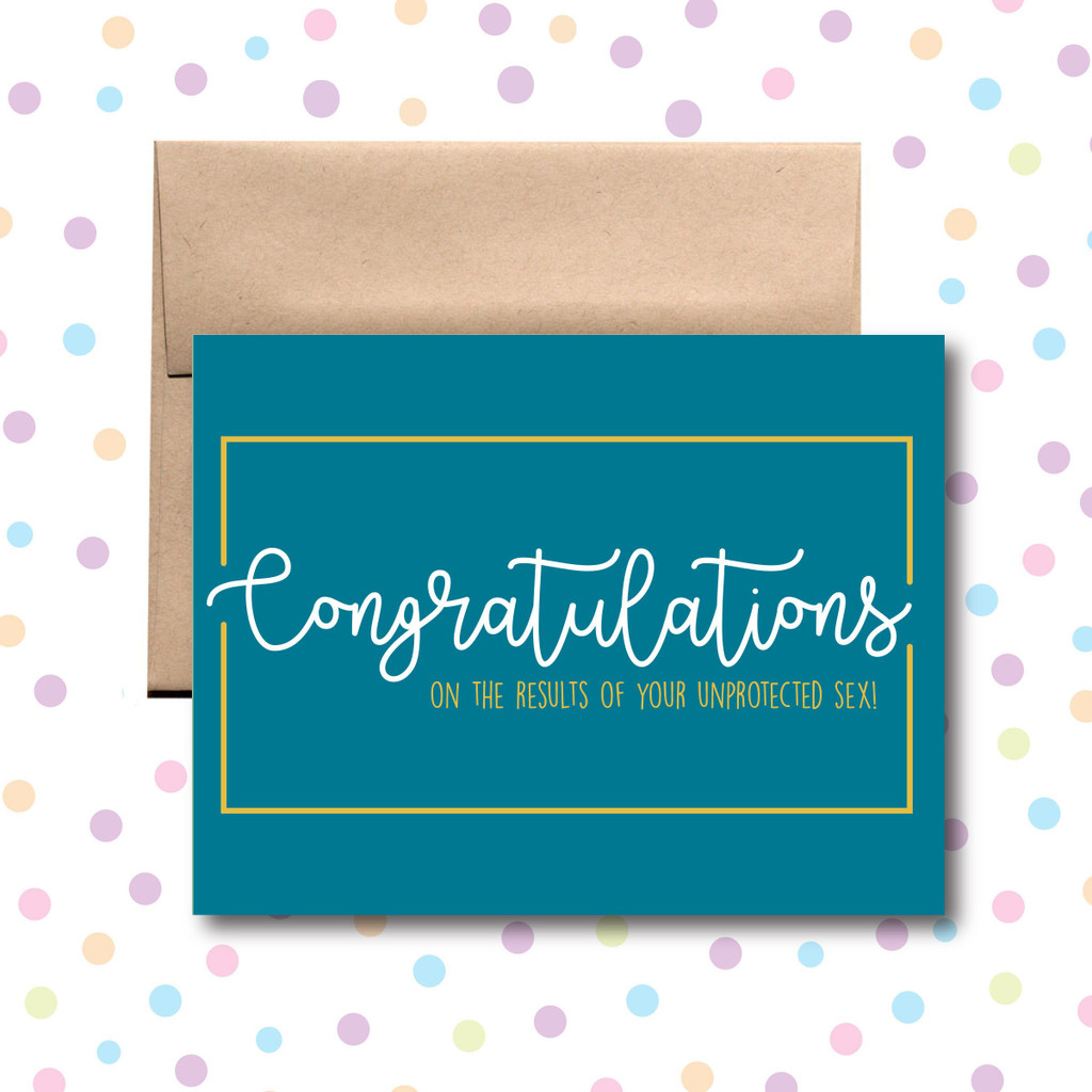 Congratulations on Conceiving Card