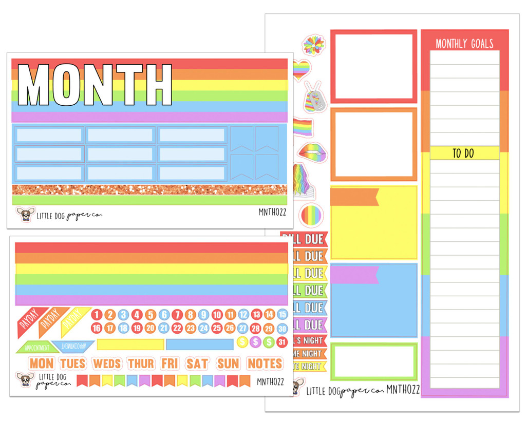 Pride Monthly Kit