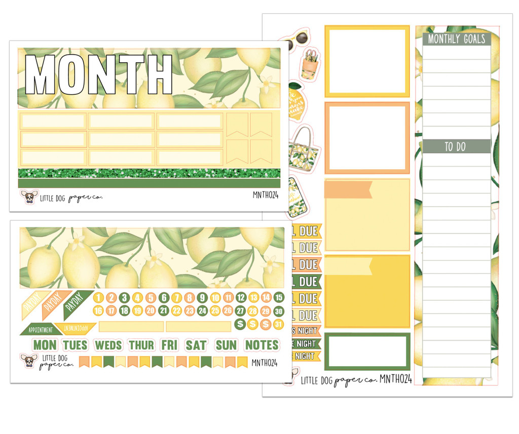 Lemon Squeeze Monthly Kit