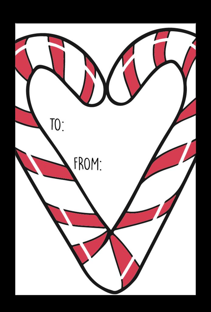 Sweet Holidays Gift Tag