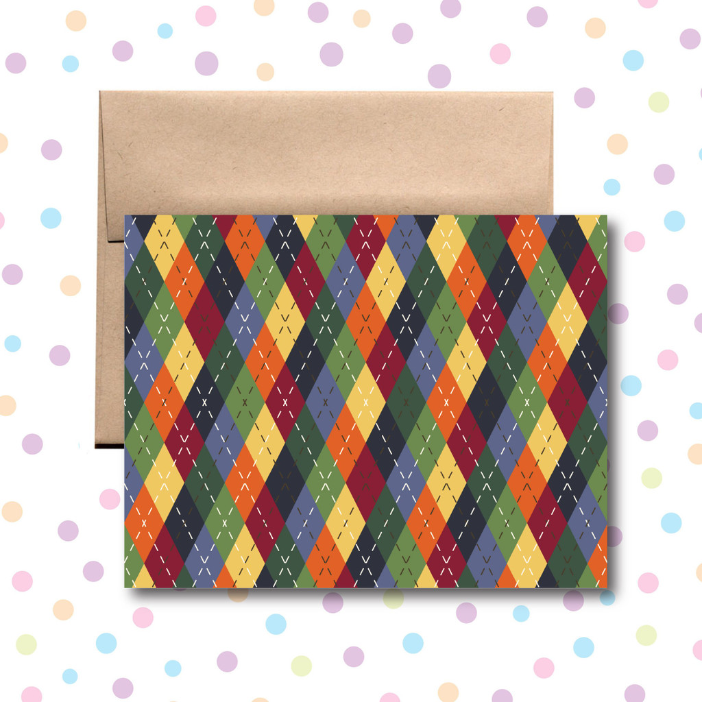 Plaid Any Occasion Card