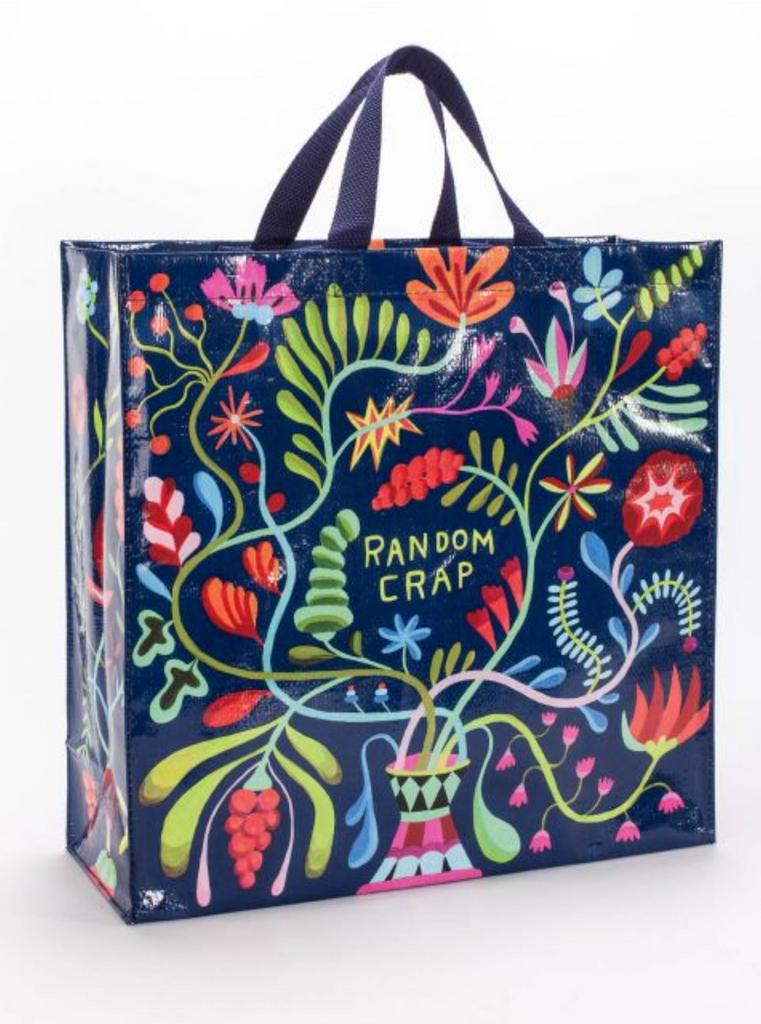 Random Crap Shopper Bag
