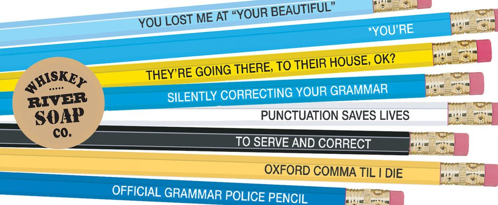 Pencils for Grammar Police
