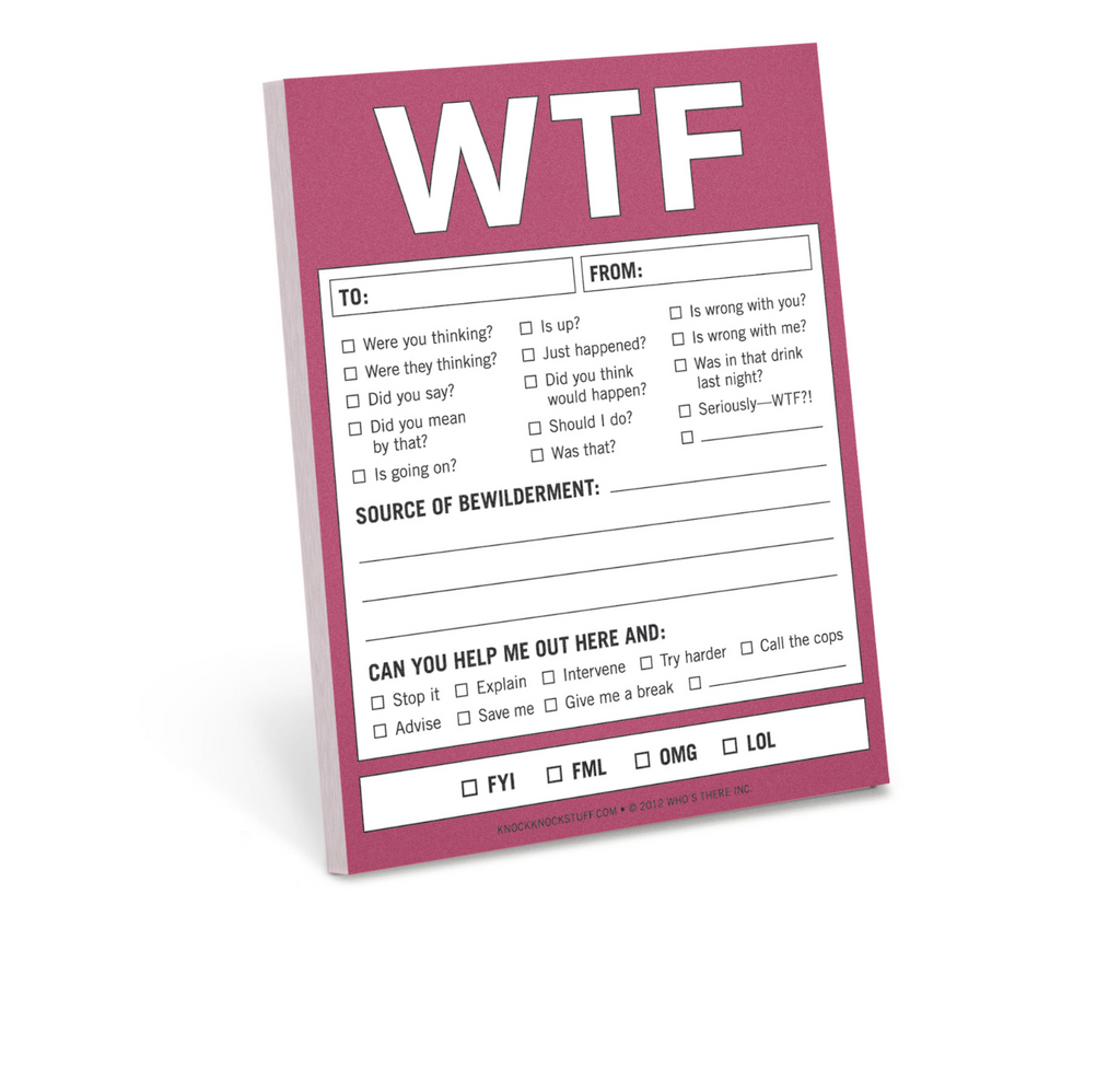 Nifty Note-WTF