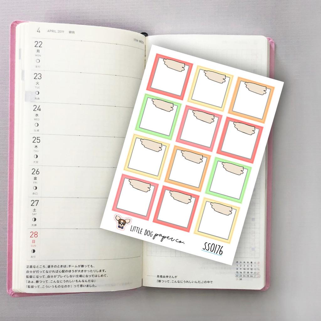 Hobonichi Weeks Boxes // Sorbet