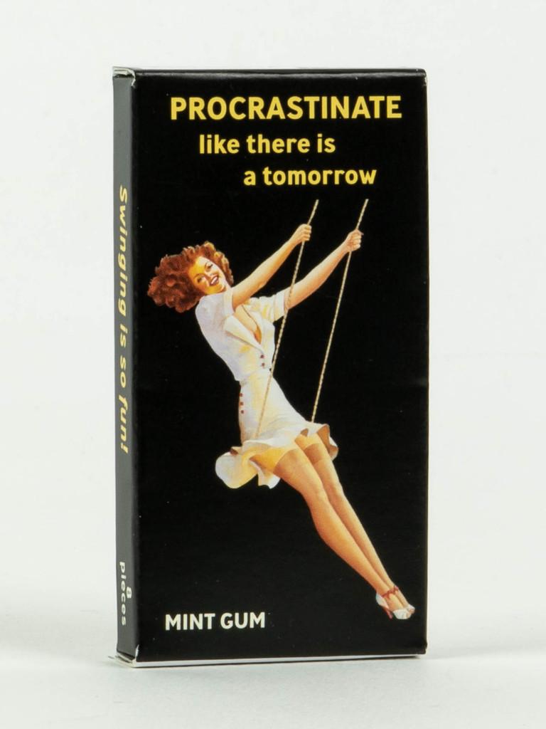Procrastinate Gum