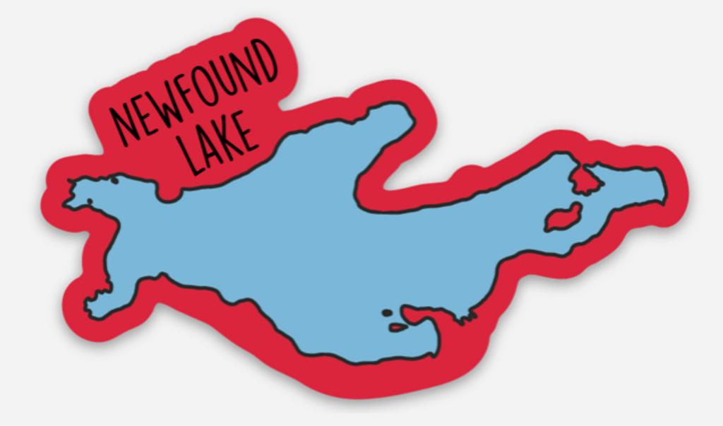 Newfound Lake Vinyl Decal Sticker