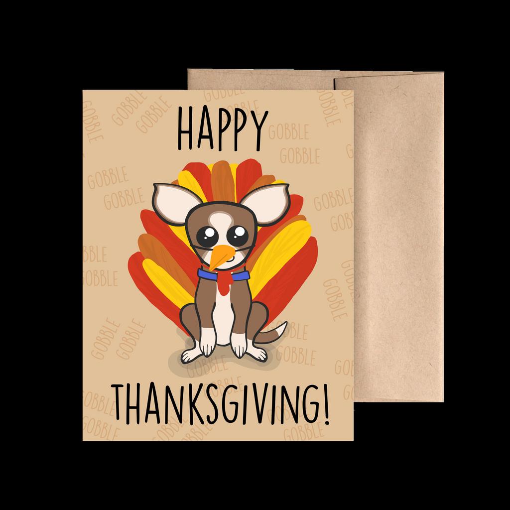 Thanksgiving Sheldon Greeting Card