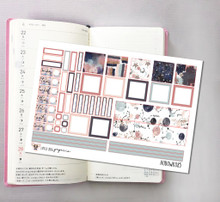 Moon and Stars Hobonichi Sticker Kit