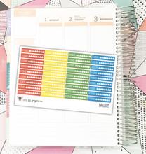Bright Hydrate Tracker Stickers