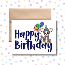 Happy Birthday Sheldon Card