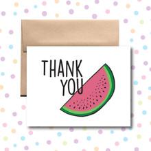 Watermelon Thank You Card