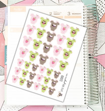 Girl Baby Stickers