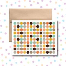 Colorful Circles Card