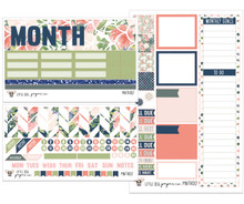 Watercolor Floral Monthly Kit