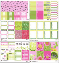 Lime & Floral Collection