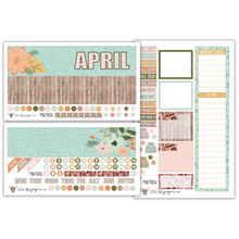 Soft Floral Monthly Kit