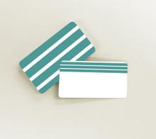 Green Stripes Tiny Notes