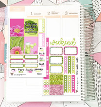 Lime Floral  Collection Mini Kit