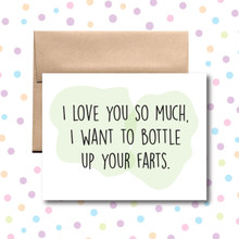 Bottle Your Farts Card
