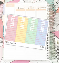 Pastel To Do Label Stickers