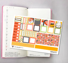 Sushi Hobonichi Sticker Kit