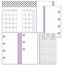 PERSONAL Size Inserts // Three Month Bundle // Customizable Weekly Planner