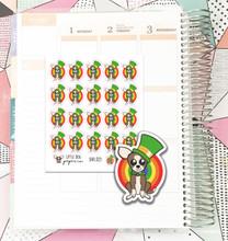 Leprechaun Sheldon Stickers