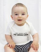 Accidents Happen You Should Know Baby Bodysuit