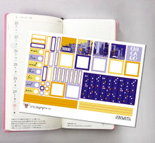 Chicago Hobonichi Sticker Kit
