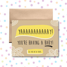 Yay You're Having a Baby Card