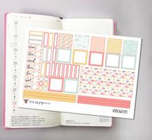 Sweet Umbrella Hobonichi Sticker Kit