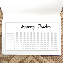 January Habit Tracker Sticker