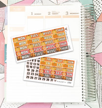 Autumn Date Cover Stickers