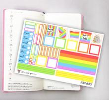 Pride Hobonichi Sticker Kit