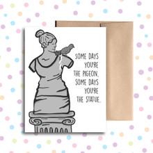Pigeon Poop Card