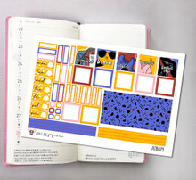 Sincerely Yours Hobonichi Sticker Kit