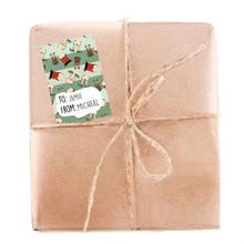 Christmas Butts Gift Tag