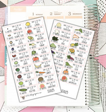 Your Baby Is... Fetal Size Tracking Stickers