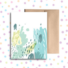 Splatter Any Occasion Card