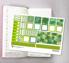 St. Patrick's Day Hobonichi Sticker Kit