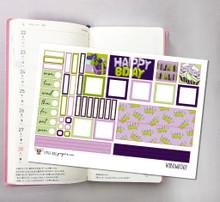 Happy Birthday Hobonichi Sticker Kit