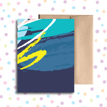 Blue Any Occasion Card