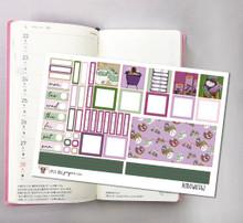 Spa Day Hobonichi Sticker Kit