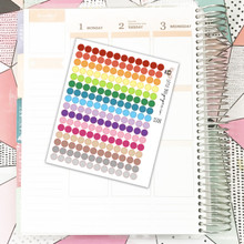Colored Dots Stickers