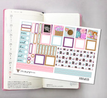 I Love Mom  Hobonichi Sticker Kit