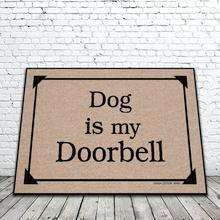 Dog is My Doorbell Doormat