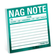 Metallic Sticky: Nag note
