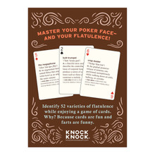 52 Farts Playing Cards