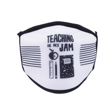 Teaching is My Jam Face Covering